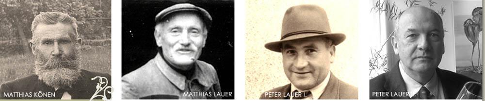 właściciele winnicy Lauer